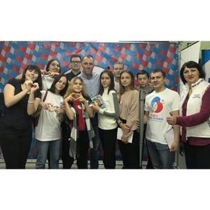 ОНФ в Коми провел учебную пресс-конференцию на региональном слете школьников «Свой голос в СМИ»
