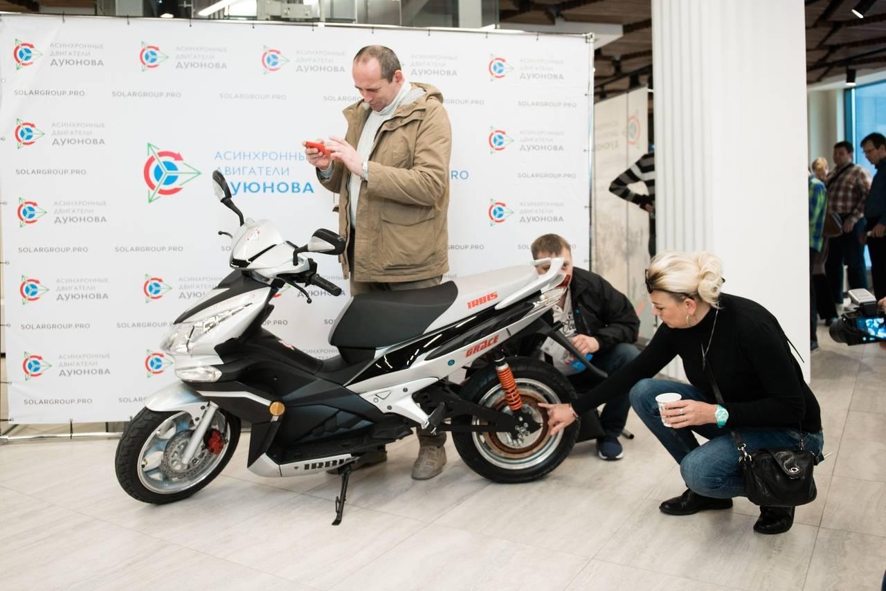 """Инновации в электротранспорте и промышленности. """"Двигатели Дуюнова"""" презентуют в Москве."""