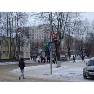 Активисты ОНФ в Коми добились исправления работы светофора в центре Сыктывкара