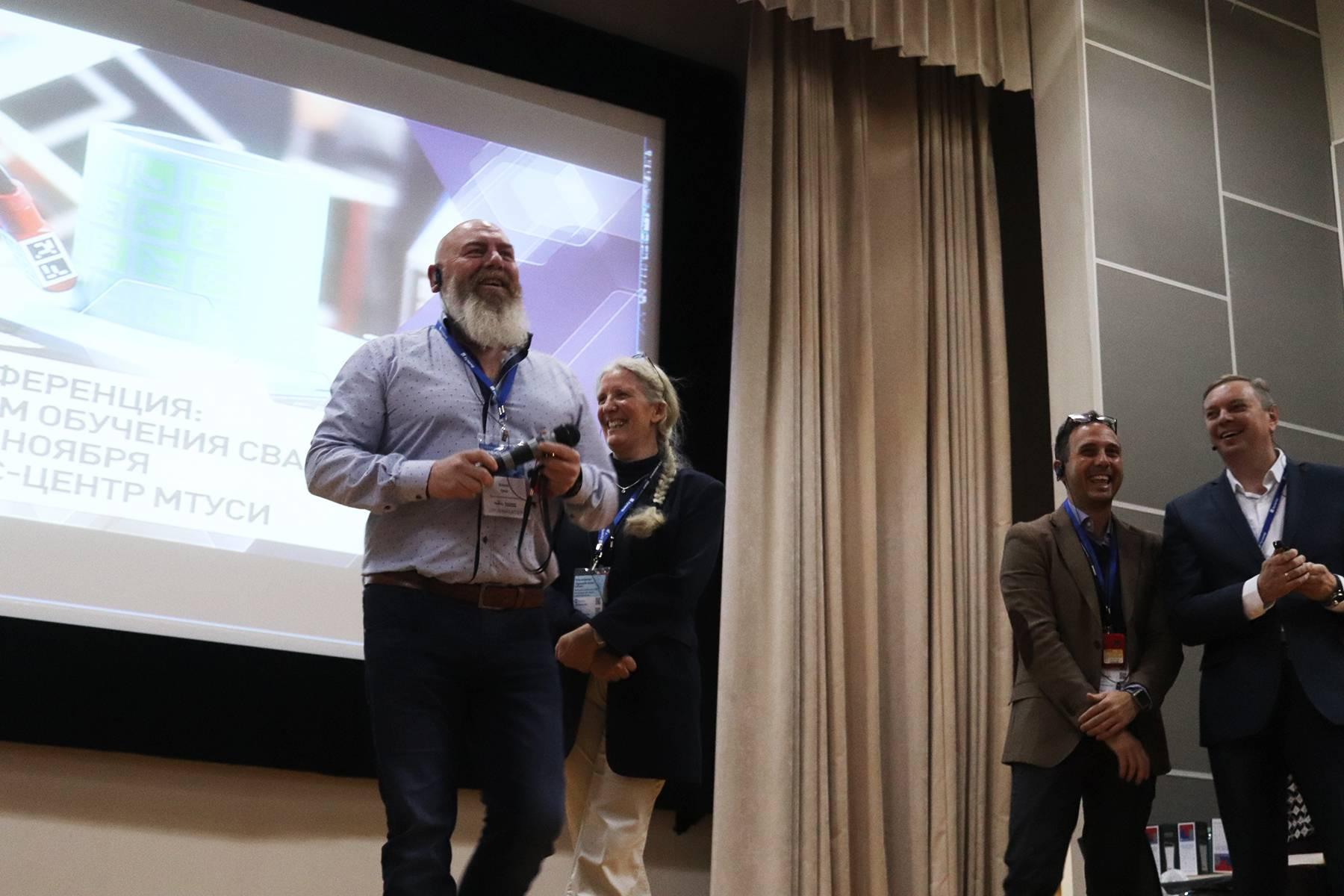 Успешное проведение конференции «Решение проблем обучения сварщика»