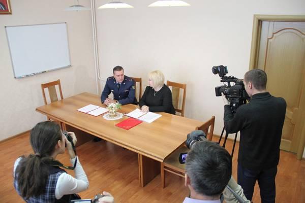 В Кемерово подписано соглашение о патриотическом сотрудничестве между ГУФСИН и гимназией №42