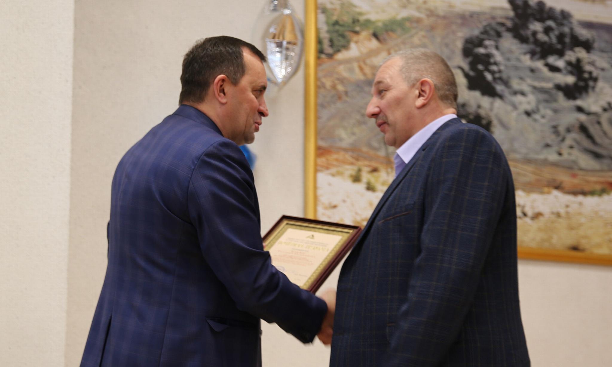 На Стойленском ГОКе отметили 35-летие получения первого концентрата