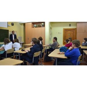 Энергетики филиала «Владимирэнерго» провели урок по профориентации для владимирских школьников
