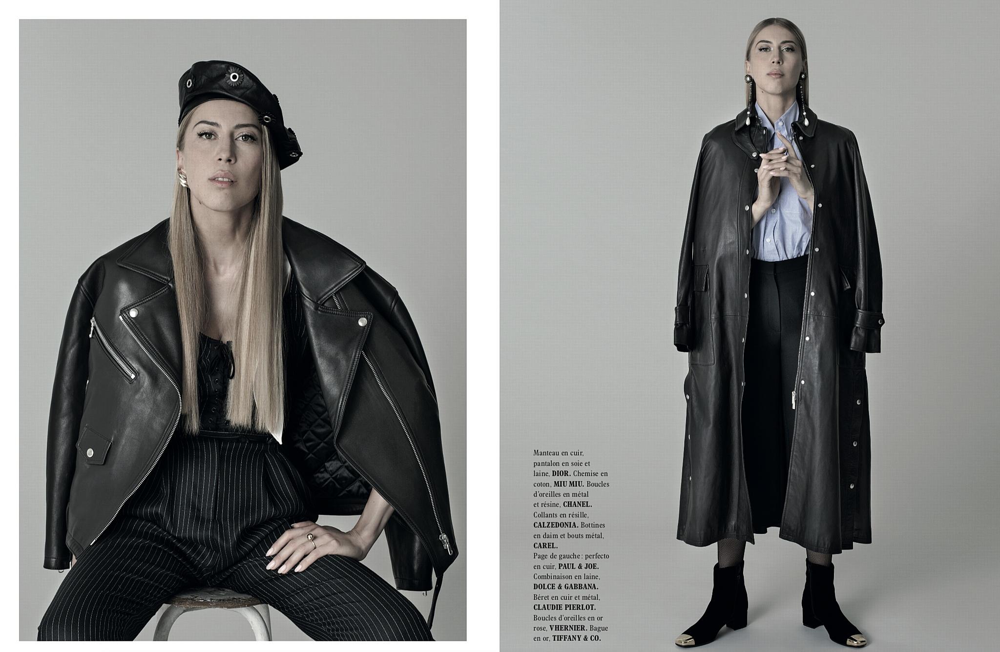 Ангелина Вангор: La Belle de Moscou на страницах L'Officiel