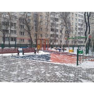 Московские активисты ОНФ добились благоустройства двора в Таганском районе