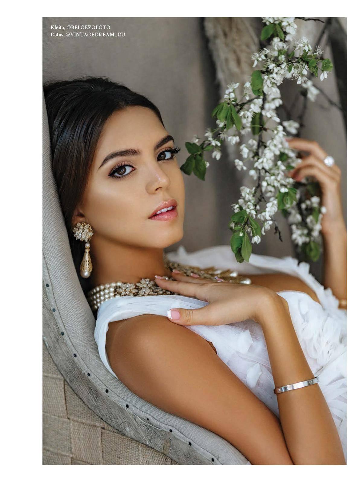 Алена Ванни: невеста в стиле L'Officiel