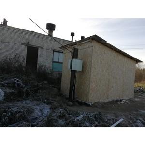 После обращения ОНФ в Карелии устранены нарушения в работе системы водоотведения в Олонце