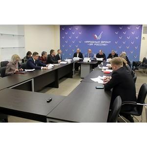 Эксперты ОНФ в Петербурге обсудили вопросы инвестирования в жилищное строительство