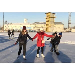 Вологодские активисты ОНФ организовали акцию «Зарядка с чемпионом»