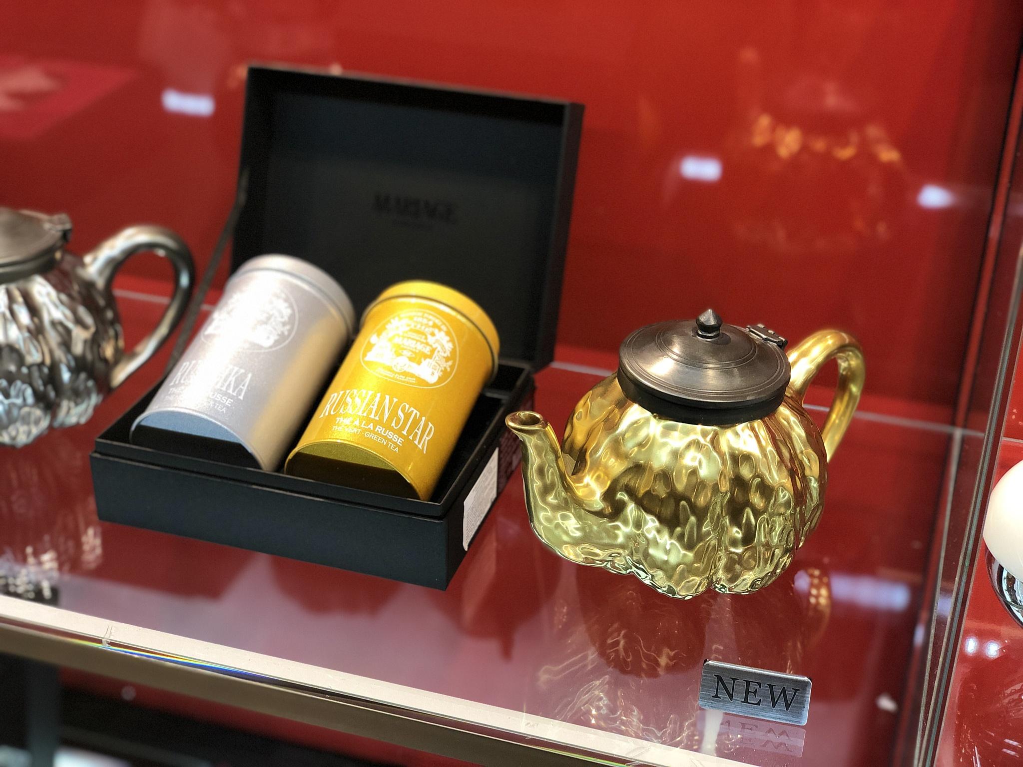 """Легендарный бренд французского чая класса люкс """"Mariage Frères"""" вернулся в Россию."""