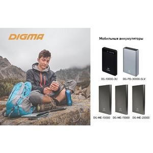 Мобильные аккумуляторы Digma: мощные и компактные