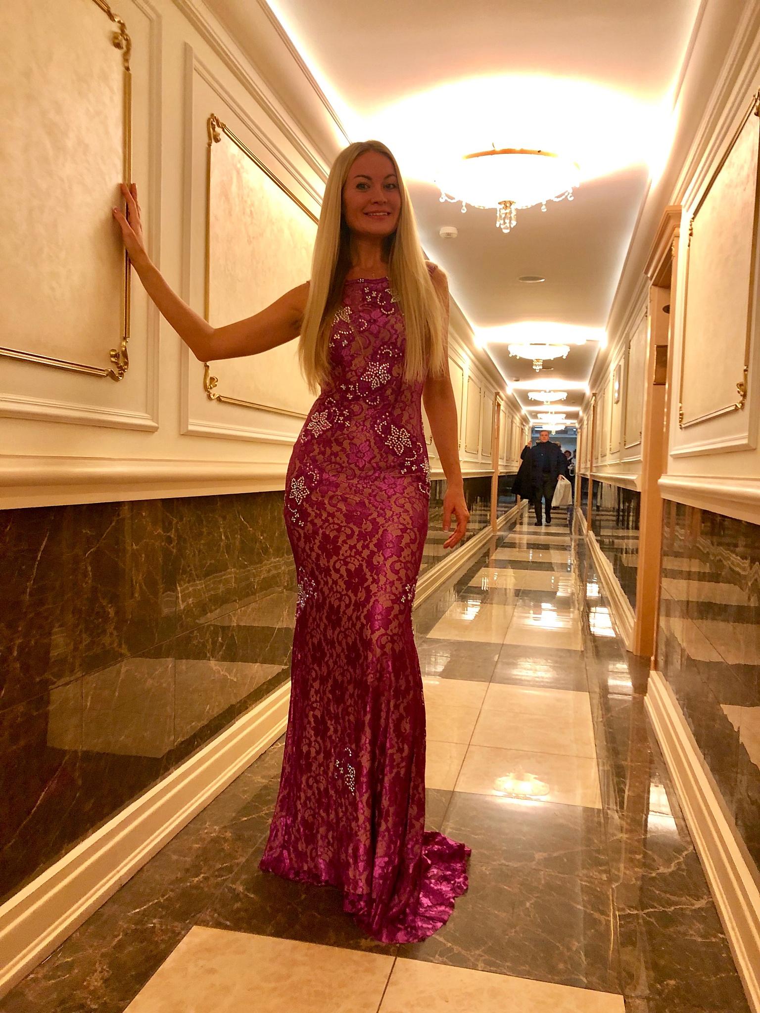 Виктория Ланевская спела в Кремле.