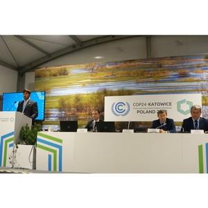 Государственная поддержка и снижение выбросов парниковых газов в фокусе обсуждения в Катовице