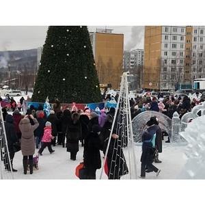 ОНФ выявил возможные нарушения законодательства при строительстве ледового городка в Тынде