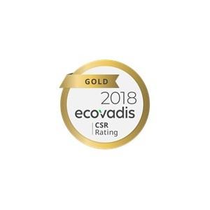 Konica Minolta получает золотой знак отличия в рейтинге устойчивого развития EcoVadis