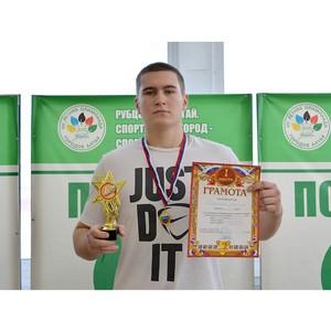 Сборная Рубцовского филиала АлтГУ – победитель ежегодного турнира по гиревому спорту