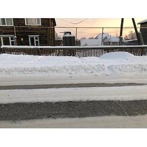 ОНФ обратил внимание на содержание муниципальных дорог в поселке Пионерский
