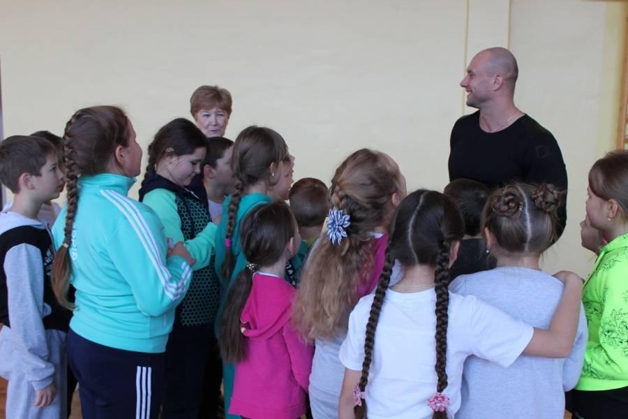 В Саранске прошла всероссийская акция «Зарядка с чемпионом»