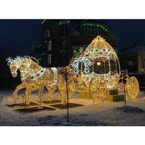 Филиал «Ивэнерго» дарит ивановцам новогоднее настроение