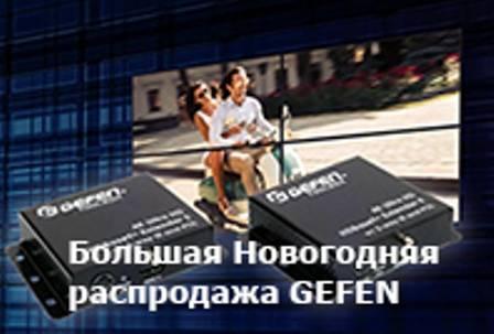 В Инсотел большая новогодняя распродажа AV оборудования Gefen