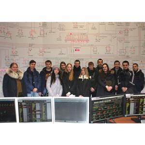 Студенты Ивановского энергетического колледжа посетили объекты филиала «Ивэнерго»