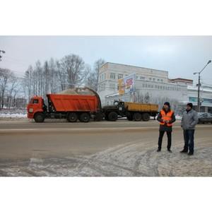 Активисты ОНФ в Коми проверили, как убирают дороги и тротуары от снега в Сыктывкаре и Выльгорте