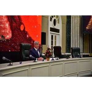 Новогоднее поздравление руководителя Департамента градостроительной политики Москвы Сергея Лёвкина