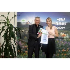 ОНФ в Томской области наградил призера конкурса волонтерских программ