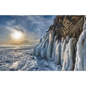 Зимний туристический сезон открыли на Байкале