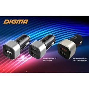 Автомобильные зарядные устройства Digma: заряжай в движении