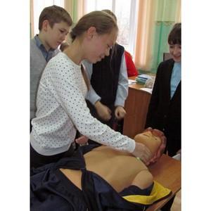 Сотрудники Тамбовэнерго провели занятие по электробезопасности для учеников города Моршанска