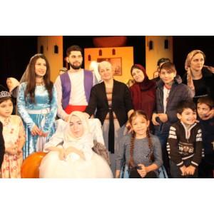 Активисты ОНФ в Чечне организовали новогоднее представление для детей с особенностями развития
