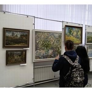 Работы художников отправились в путешествие по Красноярскому краю