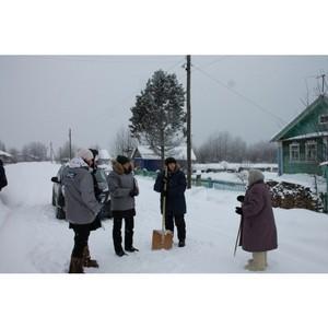 Активисты ОНФ в Коми в рамках контроля «мусорной реформы» организовали рейд в село Озел