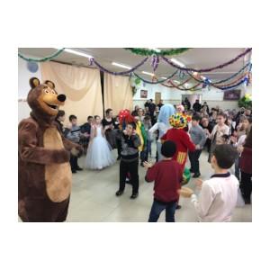 В акции ОНФ «Новогоднее чудо» в Чечне приняли участие более 400 детей
