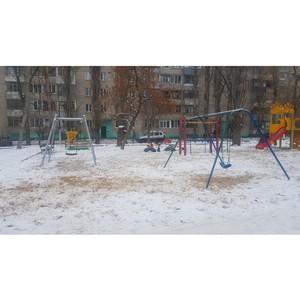 «Молодежка ОНФ» добилась демонтажа аварийного оборудования детских площадок
