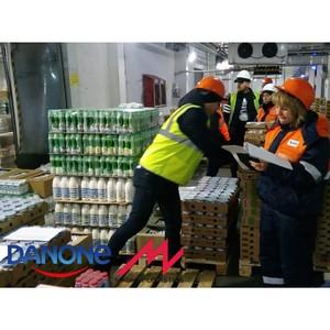 Старт сотрудничества Danone и Magnat Logistics в Волгограде