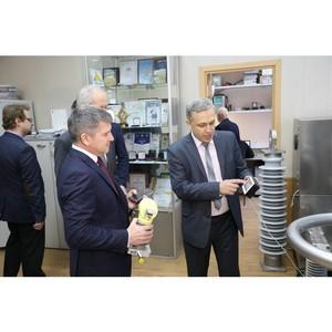 Игорь Маковский встретился с ректором ИГЭУ Сергеем Тарарыкиным