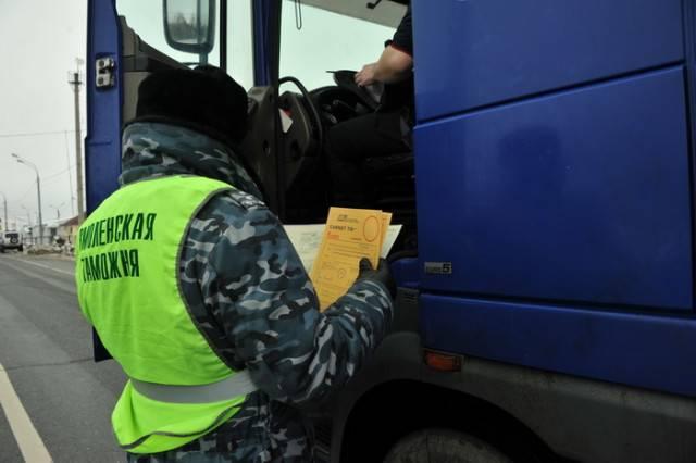 В Смоленскую область пытались незаконно ввезти товары из списка продуктового эмбарго