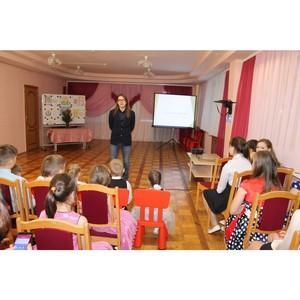 Активисты ОНФ в Мордовии провели с воспитанниками приюта «Надежда» беседу про книги
