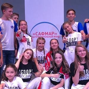 При поддержке БФ «Сафмар» Михаила Гуцериева ансамбль «Динамичные ребята» выпустил новый диск
