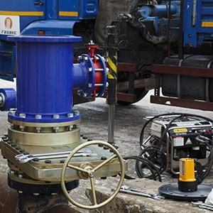 Оборудование для перекрытия трубопровода под давлением