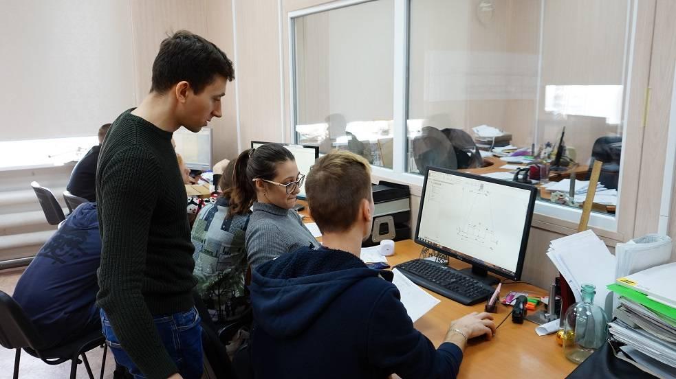 Производственная практика студентов лазерщиков