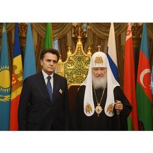 Иван Стилиди награжден Орденом Русской Православной Церкви