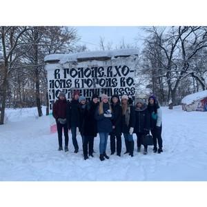 Вологодская команда «Молодежки ОНФ» провела акцию «Татьянка» ко Дню студента