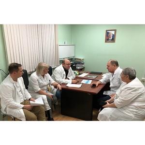 Эксперты ОНФ в Петербурге обсудили мероприятия по повышению качества оказания медуслуг онкобольным