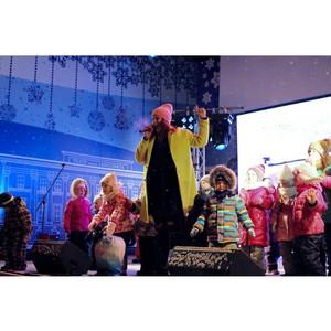 2 января на петербургской Рождественской ярмарке прошел День детей.