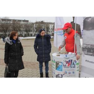 «Молодежка ОНФ» провела в Кабардино-Балкарии акцию «Открытка памяти»