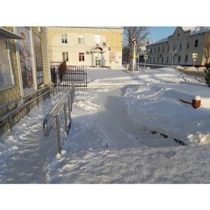 Волгоградские активисты ОНФ выявили недостатки в работе коммунальщиков по уборке снега