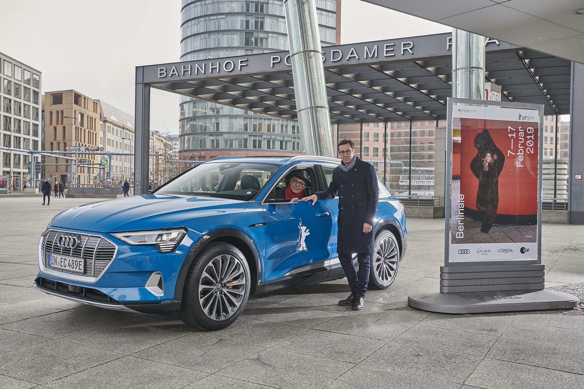 Audi e-tron на Берлинале: электромобили для звезд кинематографа